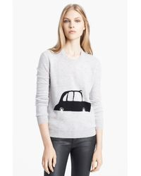 Burberry Brit Intarsia Sweater - Lyst