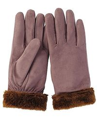 Uniqlo Faux Leather Gloves - Lyst