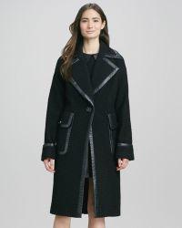Rachel Zoe Maxwell Oversized Coat - Lyst