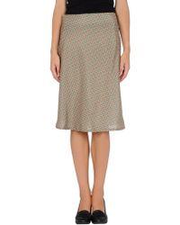 Adele Fado | 3/4 Length Skirt | Lyst