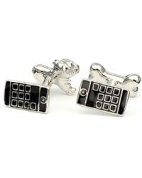 Black.co.uk - Dog and Bone Cufflinks - Lyst