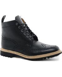 Creative Recreation - Loake Commando Brogue Boots - Lyst