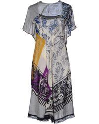 Pianurastudio Kneelength Dress - Lyst