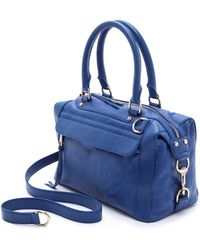 Rebecca Minkoff - Multi-zip Leather Bag - Lyst