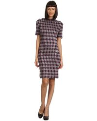 See By Chloé  S/S Tee Shirt Dress w/ Asymetrical Neck - Lyst