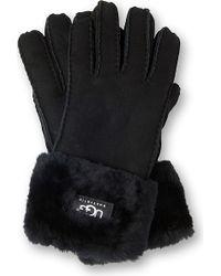 Ugg Turn Cuff Shearling Sheepskin Gloves - Lyst