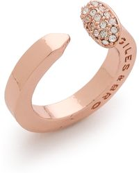 Giles & Brother - Railroad Spike Pave Ring - Lyst