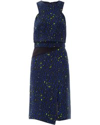 Camilla & Marc Luedmyla Leopard-Print Dress blue - Lyst