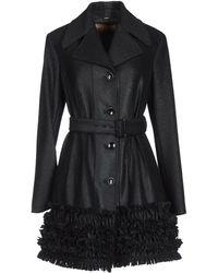 John Galliano Black Midlength Jacket - Lyst