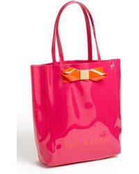 Ted Baker Bow Tote - Lyst