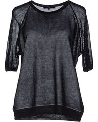 Tibi Cropped Embroidered Eyelet Top - Lyst