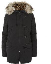 Denim & Supply Ralph Lauren - Faux Fur Hooded Parka Jacket - Lyst
