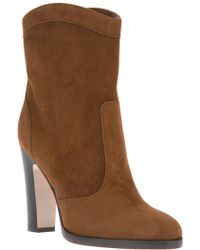 Gianvito Rossi Mid-calf Length Boot - Lyst