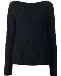 Halston Heritage Longsleeve Wool Sweater - Lyst