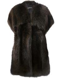 Inès & Maréchal Fur Coat - Lyst