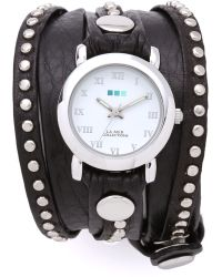 La Mer Collections - Bali Studded Wrap Watch - Lyst