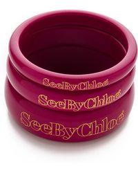 See By Chloé - Bangle Bracelets - Lyst