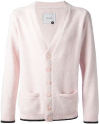 Sibling - Tipped Fluff Knitted Cardigan - Lyst