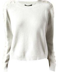 Theyskens' Theory Karan Sweater - Lyst