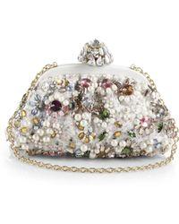 Dolce & Gabbana Miss Dea Jeweled Clutch - Lyst