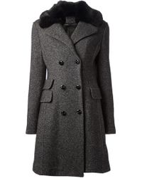 Ermanno Scervino A-Line Coat - Lyst