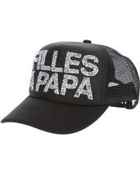 Filles A Papa - Embellished Trucker Cap - Lyst