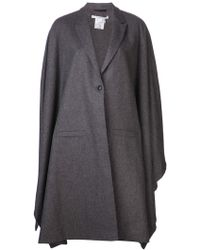 Givenchy Button Front Cape - Lyst