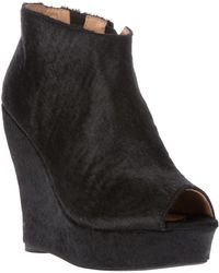 Jeffrey Campbell Tickns Open Toe Ankle Boot - Lyst