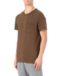 Rag & Bone Basic Pocket Tshirt - Lyst