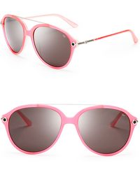 Rebecca Minkoff - Astor Aviator Sunglasses - Lyst