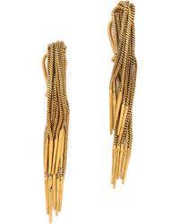 A Peace Treaty - Ajinil Multi Chain Fringe Earrings - Lyst