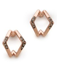 House of Harlow 1960 - Sound Waves Earrings - Lyst