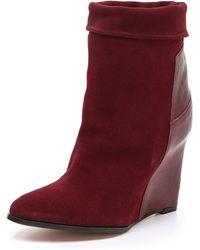 IRO - Darlon Wedge Boots - Lyst