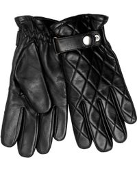 John Lewis - Quilted Leather Gloves - Lyst