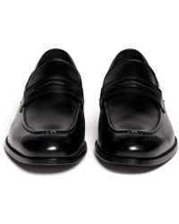Artigiano - Leather Penny Loafers - Lyst