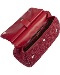 Dolce & Gabbana - Miss Sicily Classic Lace Bag - Lyst