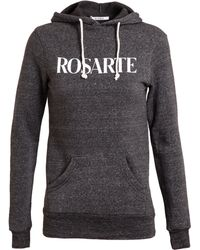 Rodarte Rosarte Cotton-blend Hooded Sweatshirt - Lyst