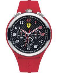Scuderia Ferrari - Ready Set Go Chronograph Watch 48mm - Lyst