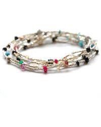 Vivien Frank Designs Multi Gemstone Necklace multicolor - Lyst