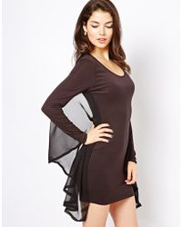 House of Dereon - Cape Dress - Lyst