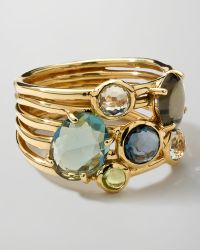 Ippolita | 18k Gold Rock Candy Gelato 6-stone Cluster Ring | Lyst