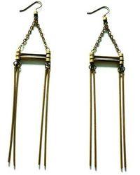 Laura Lombardi Arc Earrings - Lyst