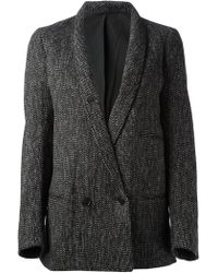Christophe Lemaire - Double Breasted Jacket - Lyst