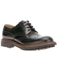 Church's Laceup Brogue - Lyst