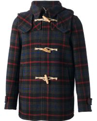 Harnold Brook - Check Coat - Lyst