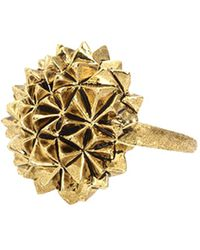 House Of Harlow Crater Cocktail Ring - Lyst