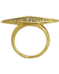 House Of Harlow Sparkling Marquis Ring - Lyst