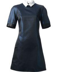 Victoria, Victoria Beckham Collared Dress - Lyst