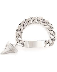 Givenchy Shark Tooth Chain Bracelet - Lyst