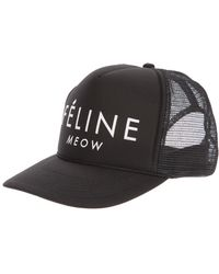 Brian Lichtenberg - Fãline Meow Printed Hat - Lyst